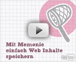 Die Memonic Video-Anleitung ansehen