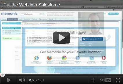 Movie: Put the Web into Salesforce