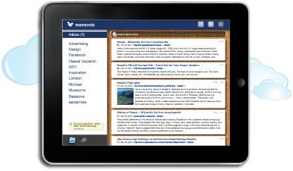 Memonic für iPad